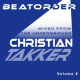 BEATORDER - mixed from the underground Volume 5