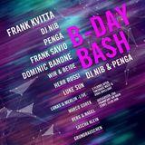 Frank Savio & Dominic Banone (B2B) @ DJ NIB B-DAY BASH | THW, Frankfurt (06-01-17) Live Recording