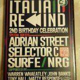 Italia Rewind, 2nd Birthday, Seen, Darlington 21-10-17 CD 1