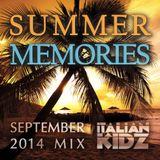 Summer Memories (September 2014 Mixtape)