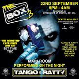 TANGO & RATTY (2hr SET) @ THE BOX 3, BASEMENT 45, BRISTOL. 22-09-2017