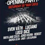 Los Suruba @ Ushuaia Ibiza Opening Party (25-05-2013)