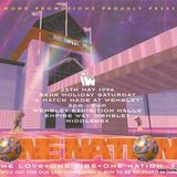 Grooverider One Nation 'A Match Made at Wembley' 25th May 1996