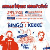 LIVE SET @ musique marché -2015/7/8