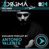 Antonio Valente – Techno Live Set // Dogma Techno Podcast [October 2014]