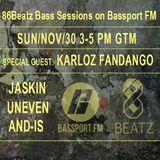 86Beatz Bassport Fm sessions  2014.11.30