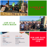A Sides & MC Fats Live From La Cinta Beach Sun And Bass 2018 (1 Deck 1MC Mix)