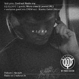 Yesh pres. Contrast Radio 014   03_03_2017 (guests: Micro crew & Leonid + CREM007 - Branko Dalloš)
