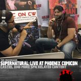 Live From Phoenix Comicon – What about Castiel?