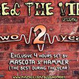 Mascota - 2 Years FEEL THE VIBE radio show 18 Aug 2010 Part.2