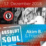 Absolut Soul Show /// 12.12.18 on SOULPOWERfm