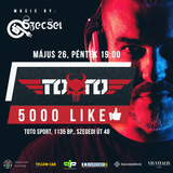 "2017.05.26. - ""5000 LIKE Edzés"" - TOTO Sport, Budapest - Friday"