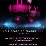 #ASOT550 - Mark Sixma - Live at Brabanthallen in Netherlands (31.03.2012)