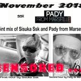 Sisuka Ssk @ Pady de Marsella  joint mix 11/2018