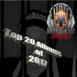 Badass Martin's Rockout Top 20 Albums of 2017 Show
