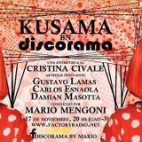 Kusama en Discorama = Gustavo Lamas + Cristina Civale + Esnaola !