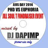 PHD vs Euphoria Aus Day 2014 - mixed by DJ Dapimp