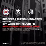 Hernan Cattaneo B2B Nick Warren - Sudbeat & The Soundgarden (Barcelona) live pt.3