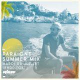 Para One Summer Mix - 5 Juillet 2016