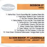 Session 27-Divas-DJ Don Bishop 1/2003