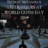After Hours at Club Gothika 22nd May 2014: The World Goth Day Kickoff