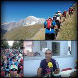 Alex Estela ha participat en la CCC® (Courmayeur- Champex-Chamonix)