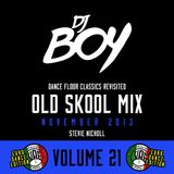 DJ Stevie Nicholl - Old Skool Mix Vol 21 (November 2013) Euro Dance Edition