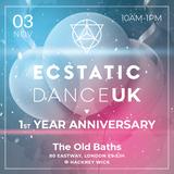 Ecstatic Dance UK - SUN•DAY 03.11.19
