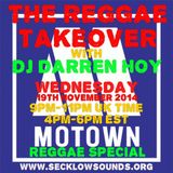 The Reggae Takeover 19th November 2014
