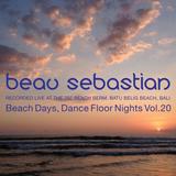 15.10.23 Beach Days, Dance Floor Nights Vol.20 - Beau Sebastian Live @ Batu Belig Beach, Bali