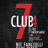 Nic Fanciulli - Live @ Club4 7th Anniversary City Hall Barcelona (Spain) 2013.02.21.