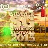 Mark Breeze Live @ Summer Gathering 2015 HTID / Uproar with Mc Whizzkid