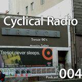 Podcast 004: Tresor 90´s. Mixed by Tadeo