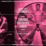 Protopapa at Le Cannibale Milano Season 4 Opening Gala - Closing set after Siriusmo (20.09.2014)