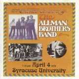 THE ALLMAN BROTHERS BAND - My Brothers Keeper - Syracuse, New York,  April 7, 1972 Soundboard