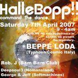 Beppe Loda - Halle Bop! @ Sosho Basement [London - UK], 07.april.2007 - Easter saturday - Live pt.2