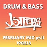 Jotters February 2018 pt.ii mix - drum and bass