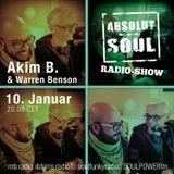 Absolut Soul Show /// 10.01.18 on SOULPOWERfm