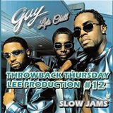 THROWBACK THURSDAY #12 R&B & HIP HOP LEE PRODUCTION OLD SCHOOL MIX