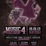 Skeletone & Silence Groove pres. Drunk Monkeys Live Mix [Puzzlement]