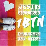 "JUSTIN RUSHMORE's WEEKLY RADIO SHOW 1BTN (78) ""jazz to funk to dnb to retro house"" 18/10/18"