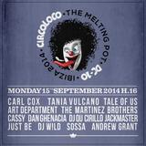 Carl Cox (Global 600) - Live At Circoloco, DC10 (Ibiza) [FULL SET 4H] - 15-Sep-2014