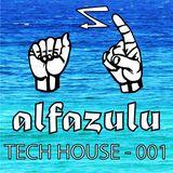 Tech House Mix 01 - ALFAZULU - recorded live 14/11/16 (Sydney)