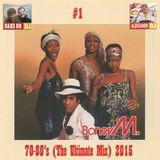 DJ Daks NN Bro's & DJ Aleksandr - Boney M 70-80's (The Ultimate Mix) 2015