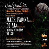 Mark Farina @ Sacred Grounds 10 Yr Anny Halloween Masquerade- Los Angeles- October 29, 2005- Part 2