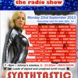 THE JOHNNY NORMAL RADIO SHOW 20 - 23RD SEPTEMBER 2013