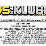 FRANCESCO GIGLIO RADIO SHOW 105 IN DA KLUBB # 4