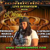 K VIBES LIVE INTERVIEW WITH DJ JAMMY ON ZIONHIGHNESS RADIO 032918