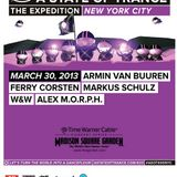 W&W - A State Of Trance 600. (Live @ Madison Square Garden New York - USA) 2013.03.30.