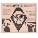 Genesis Live in Boston Music Hall April 24th 1974